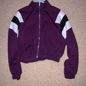 Jackets & Blazers - Purple Bomber Jacket (3/$22)